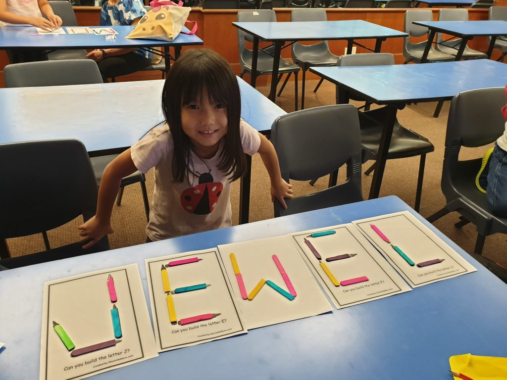 Handwriting Workshop for Children invited by Kampong Glam