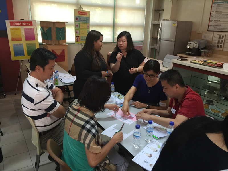 Workshop for Parents at Chaoyang School