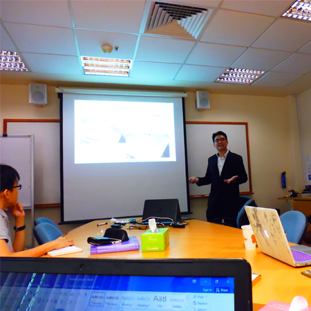 National University of Singapore (NUS) Guest Lecturer